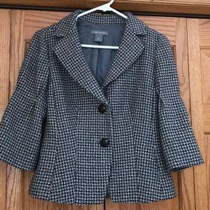 Ann Taylor tweed blazer.